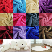 Warm plush fabric, winter fashion apparel fabrics, Showcase cloth below, the width of 1.65M, one meter = 100 * 165CM(China)