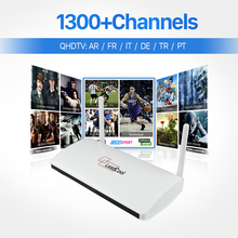 2017 Cheapest Android French Arabic IPTV Box Smart TV Box With Free 1300+ HD Live TV IPTV Set Top Box French Europe IPTV Package