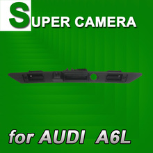 For Sony CCD Audi A6L A8L A4 A8 Q7 Car Back Up Parking Rear View Reverse Camera Trunk handle NTSC Waterproof Security for GPS(China)