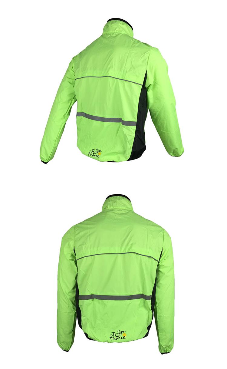 6 BESTGIA Hot Selling Ultra-light Tour De France Bicycle Jacket Bike Windproof Raincoat Road Track MTB Aero Cycling Wind Coat Men Clothing