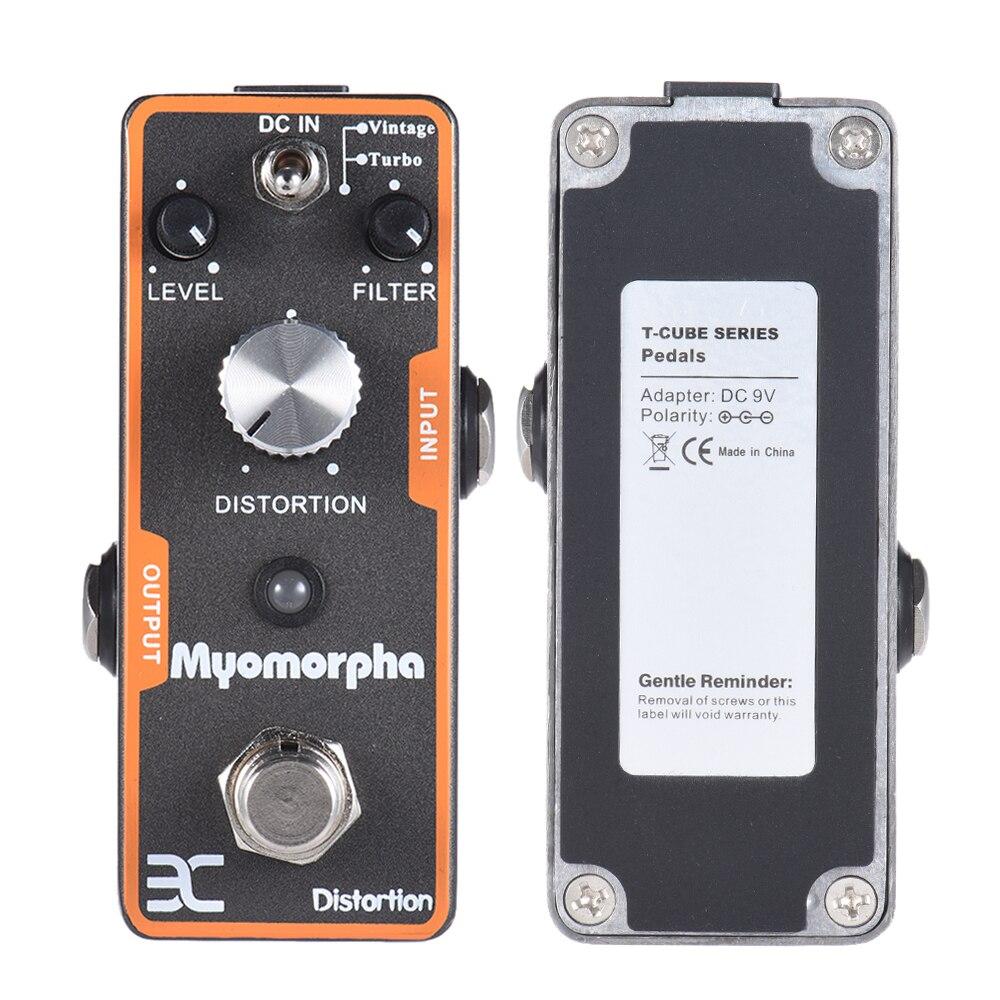 ENO TC-13 Myomorpha Distortion Guitar Effect Pedal True Bypass Design Guitarra Part<br>