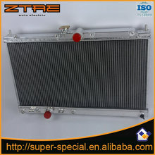 Light Weight Car Racing Aluminum Radiator For EVOLUTION/EVO 7/8/9 4G63T 02-08 Replacement parts ALUMINUM ALLOY RADIATOR