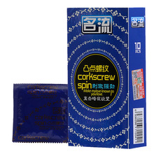 Buy Ming Liu 30Pcs/Lot Ribbed Corkcrew Spin Real Feel Thin Condoms Sex Product men high quality