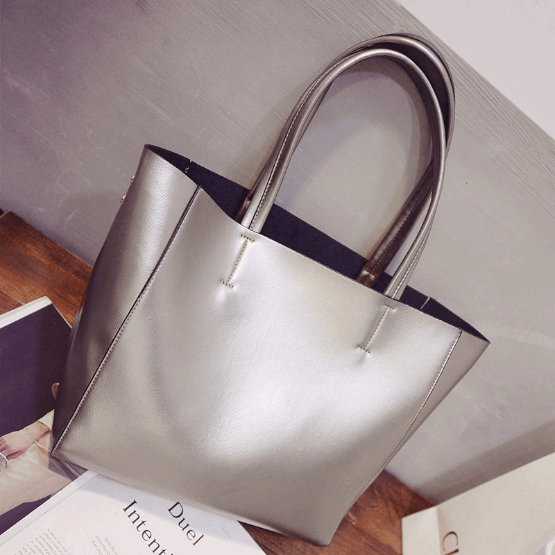 High Quality Luxury Handbags Women Bags Designer Brand Famous Large Capacity Shoulder Bag Gold Silver Black Sac A Main Femme De<br><br>Aliexpress