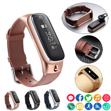 Smart Watch Bracelet Sports Smartband Wristband/Bluetooth Headset Earphone for IOS Android