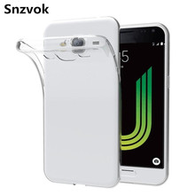 Snzvok 0.3mm Thin Soft clear Silicon TPU Case For Samsung Galaxy S8 S7 S6 J1 J2 J3 J5 J7 A3 A5 A7 2017 note 5 4 phone back cover