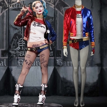 Suicide Squad Harley Quinn cosplay costume Halloween costumes for adult women costume Harley Quinn cosplay Harley Quinn suit(China)
