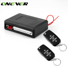 Onever Car Alarm Systems Auto Remote Central Kit Universal Car Remote Central Lock Locking Control Door Keyless Entry System Kit(China)