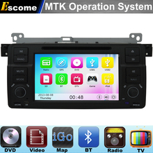 MTK3360 Car DVD Player For BMW E46 M3 1998-2006 Rover 75 1999~2004 with 800MHz CPU Dual Core Bluetooth Radio GPS Navigation