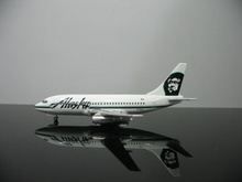 1:400 American Airlines ALASKA painting 737 N730AS aircraft model