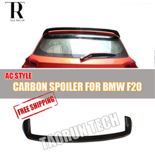 F20 Carbon Fiber Rear Wing for BMW F20 118i 120i 125i 128i M135i  Auto Racing Car Styling Tail Roof Window Spoiler AC Style