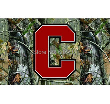 Cornell Big Red Camo College Large Outdoor Flag 3ft x 5ft Football Hockey Baseball USA Flag(China)