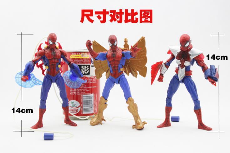 3pcs/set Movie Spiderman Action Figures Toys Spider-man Figure Model Toys SPM113<br><br>Aliexpress