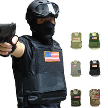 Hunting Tactical Carrier Vest Airsoft Black Tan Green Down Movie US Army Body Armor Plate Airsoft Paintball Vest Outdoor Gears