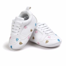 New Arrive Baby First Walkers Baby Soft Bottom Fashion Newborn Babies Shoes PU Leather Prewalkers Boots