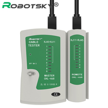 Hot selling Network Cable Tester RJ45 RJ11 RJ12 CAT5/ Cat 5e / Cat 6 UTP LAN Cable Tester Networking Tool