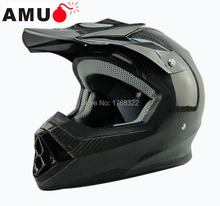 free shipping 2015 new design AMU carbon fiber off road full face motocross motobike helmet casco capacetes Motorcycle helmet