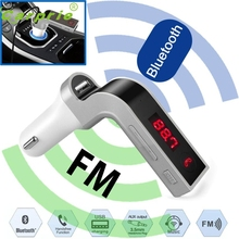 Pretty  Car FM Transmitter Bluetooth Hands-free LCD MP3 Player Radio Adapter Kit Charger or2