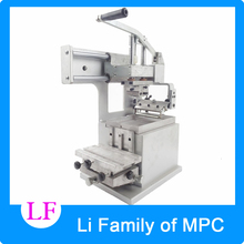 Manual pad printing  equipment company logo printer machinery single color oil stamping printer design die board pad head
