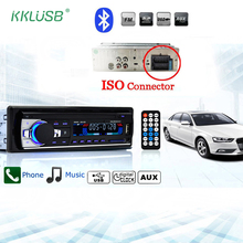 Autoradio Car Radio JSD-520 12V Bluetooth V2.0 Car Audio Stereo In-dash 1 Din FM Aux Input Receiver SD USB MP3 MMC WMA JSD 520(China)