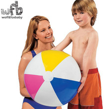 Over 3 years Children kids Four-color beach ball toy