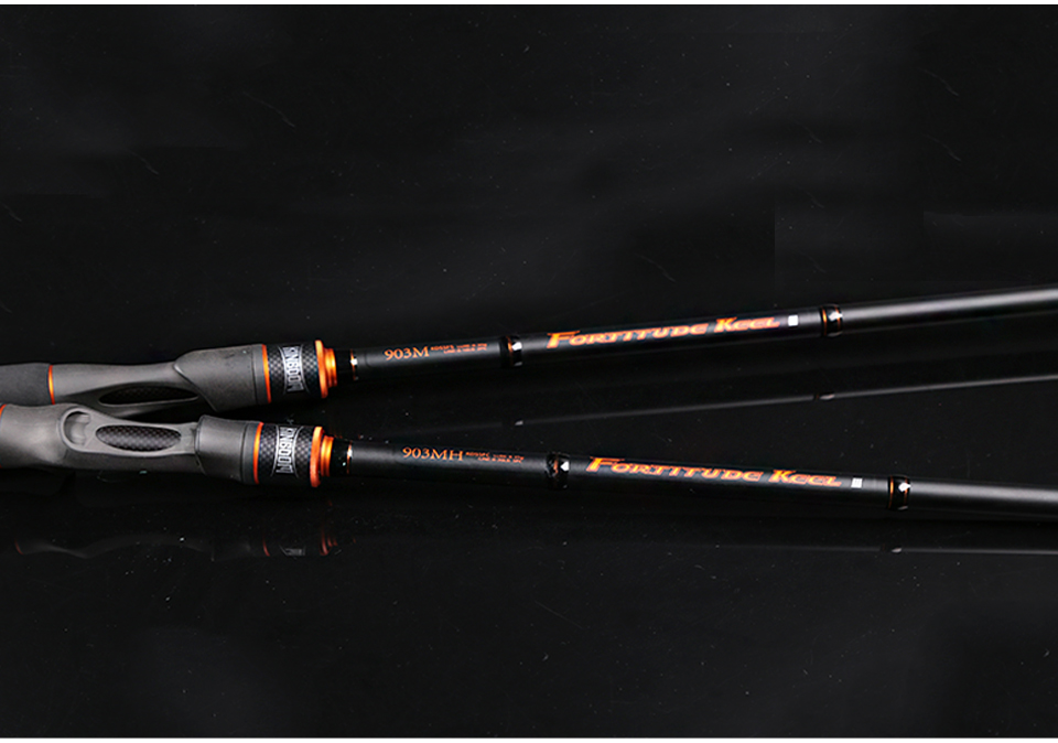 Kingdom Spinning Rods 2.7m 3m Carbon Fishing rod M MH Casting rods Fast Lure Feeder Rod Fishing Pole 3 Sections (5)