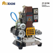 ZY-819K Automatic Stamping Machine,RCIDOS Creasing machine,LOGO stamper,High speed name card Embossing machine(China)