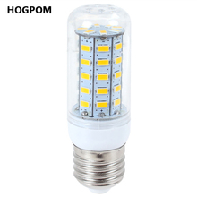 10 Pcs Ultra Brighter E27 220V LED lamp 30 36 48 56 69 LEDs Corn Bulb Replace 7W 12W 15W 20W 25W Compact Fluorescent Light(China)