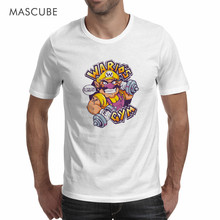MASCUBE Novelty Style New Hot Sale 2017 Summer Desinger Top Quality Men T Shirts Clothing Super Mario Funny Character Casual Tee