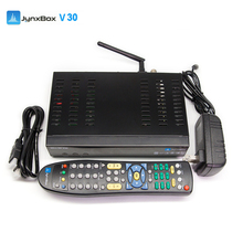 JynxBox Ultra HD V30 Ultra HD Digital Satellite Receiver 8PSK with Twin Tuner cccam newcamd for North America