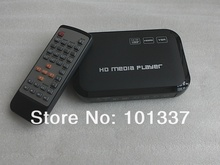 JEDX 3D Full HD 1080P Media Player USB/SD RMVB RM H.264 MKV AVI VOB AV,VGA,YUV,HDMI port Mini Hdd player free shipping