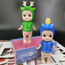 2017 NOW sonny angel angel doll Animal series green dragon Blue bird crocodile  Exquisite gift to the baby the best gift