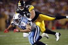 6641 Troy Polamalu Pittsburgh Steelers Sport - Art Silk Cloth Poster-Wall Sticker Art Poster For Home Decor Silk Canvas Painting(China)