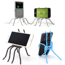 Buy Spider Mobile Phone Holder Iphone 7 8 8 Plus SE 5s 4s Stent Samsung S7 Edge S6 Xiaomi Bicycle Holder Stand Support for $1.27 in AliExpress store