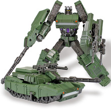 NEW Transformation Anime Series Action Figure Toys 4 Size Robot Truck Alloy Class Trolls Model Anime Figure Toys for Children