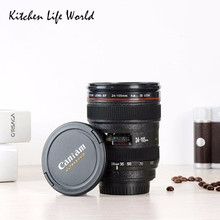 NEW SLR Camera EF24-105mm Coffee Lens Mug cup 1:1 scale caniam coffee cup with CANON creative gift(China)