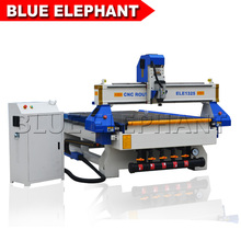 Jinan cnc router kitchen cabinet makinng machine with dust collector for cnc router(China)