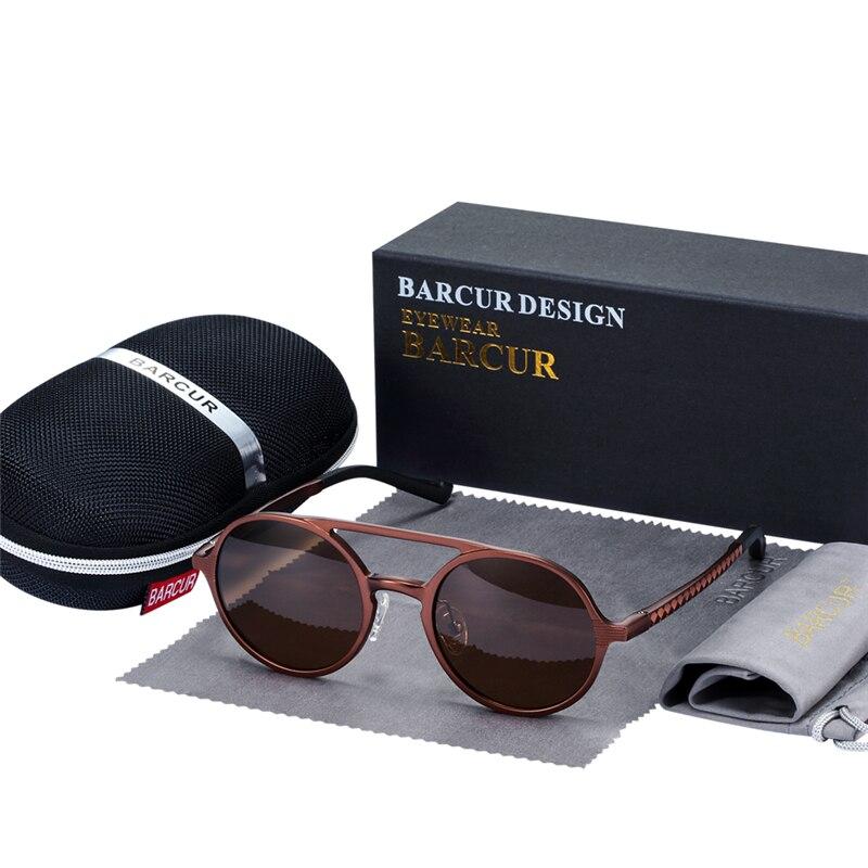 نظارات شمسية للحماية من اشعة الشمس بعدسات بلورايزد 8