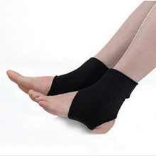 2 Pcs Ankle Brace Support Spontaneous Heating Protection Magnetic Therapy Belt