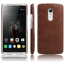 New arrival For Lenovo Vibe X3 Case 5.5inch Luxury Crocodile Skin Case Cover For Lenovo Vibe X3 C50 Phone Bag Case