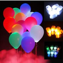 2000pcs Shiny LED Balloon Lamp,Floral Light,Chinese Paper Lantern Light for Wedding Birthday Party Decoration