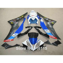 Injection molding bodywork fairings set for YAMAHA R6 2008 -2014 blue white black full fairing kit YZF R6 08 09 - 14 ZB77