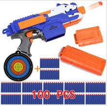 Blaster Air Gun Can Launch of Electric Play The Toy Soft Bullets strike Kids Rifle Toys electric soft bullet toy(China)