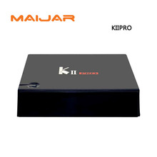 5pcs Smart Android +DVB-S2+T2 Combo KII PRO Amlogic S905 Quad Core Hybrid Set Top Box 2G 16G 2.4G Wifi Dlna Airplay Youtube