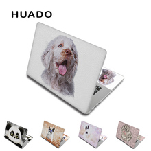 "Puppy cute 15""17""13""14"" laptop sticker computer cover 12""11.6"" notebook skin vinyl decals acer/hp/dell/sony/xiaomi/mac"