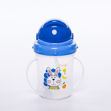 Mambobaby Baby Cups Durable Portable Kids Straw Cup Water Bottle With Handles Newborn Feeding Drinking Cup Kettle For Baby