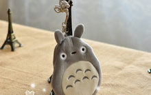 Kawaii 15CM Approx. MY Neighbor TOTORO Neck String Satchel Coin BAG Purse Wallet Pouch Case ; Small Shoulder BAG Pouch(China)