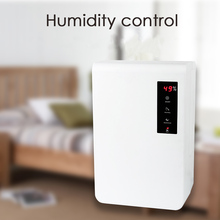 LAGUTE LG-A10 3000ml Electric Dehumidifier Moisture Absorber Air Dryer Auto Humidity Meter Control for Office Home Living Room(China)