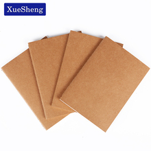 1 PC Cowhide Paper Vintage Journal Notebook A6 Blank Notepad Office Stationery(China)
