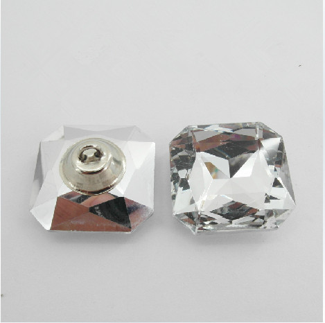 50 Crystal Gem Flower Diamante Chair Headboard Upholstery Sewing Button 20mm